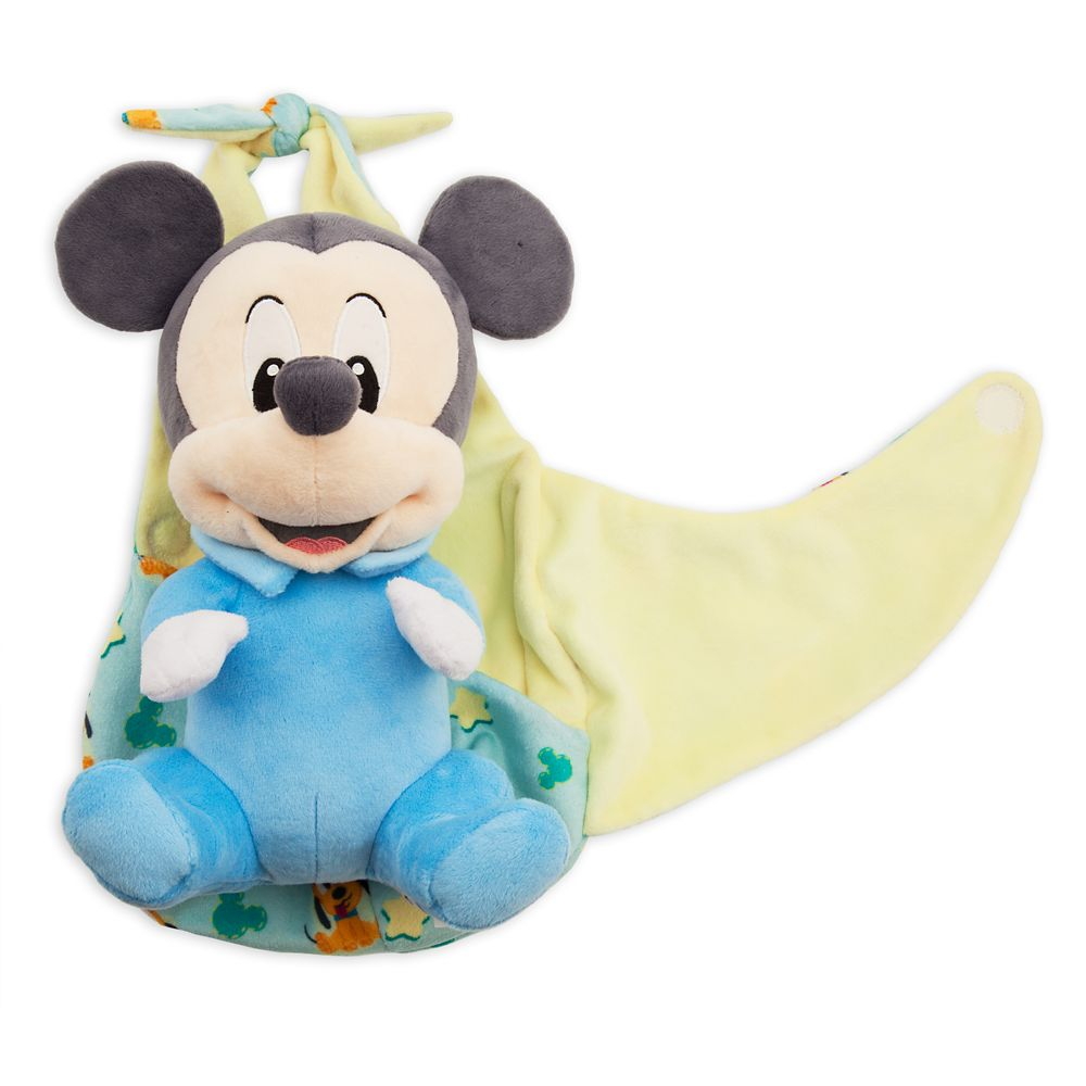 Mickey Mouse Plush in Pouch – Disney Babies – Small