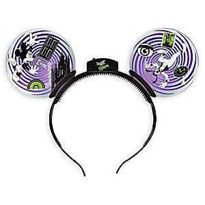 Mickey Mouse and Goofy Tower of Terror Ear Headband