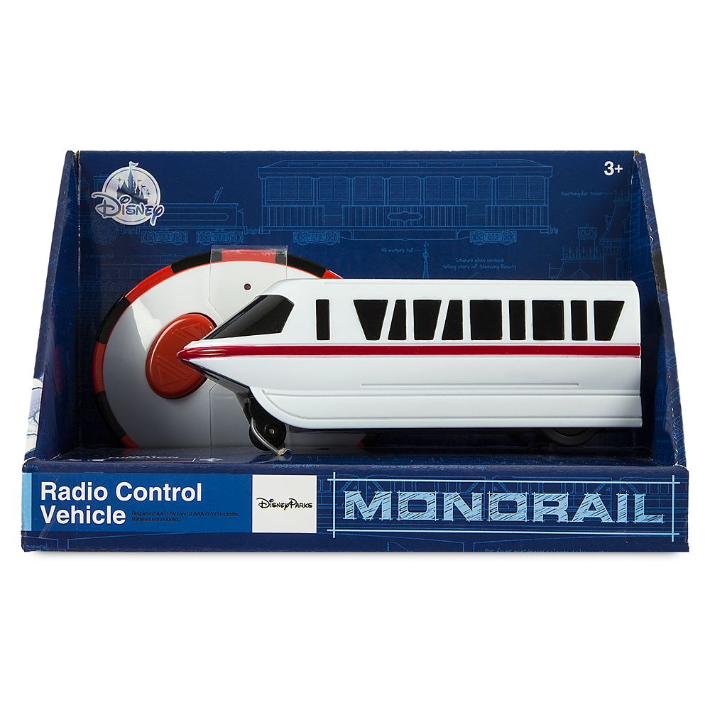 Monorail Radio Control Vehicle