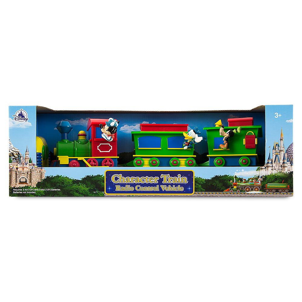 Mickey Mouse and Friends Character Train Radio Control Vehicle