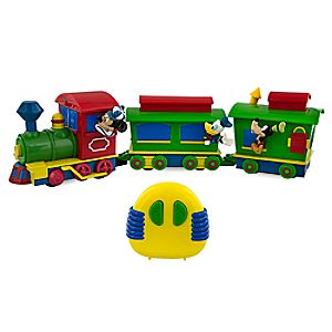 Mickey Mouse and Friends Character Train Radio Control Vehicle 7512057371487P