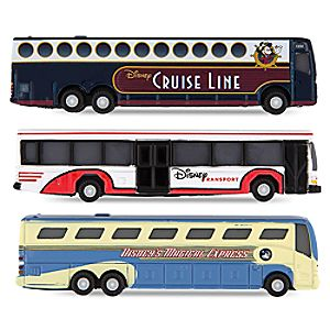 Walt Disney World Buses 3-Pack Set 7512057371491P
