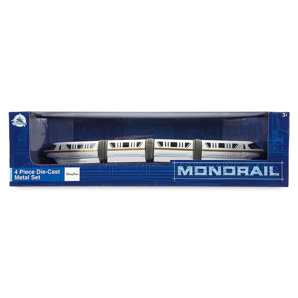 Monorail Die Cast Set