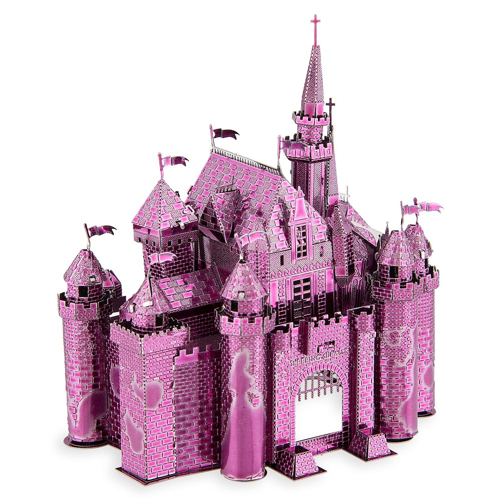 Sleeping Beauty Castle Metal Earth 3D Model Kit