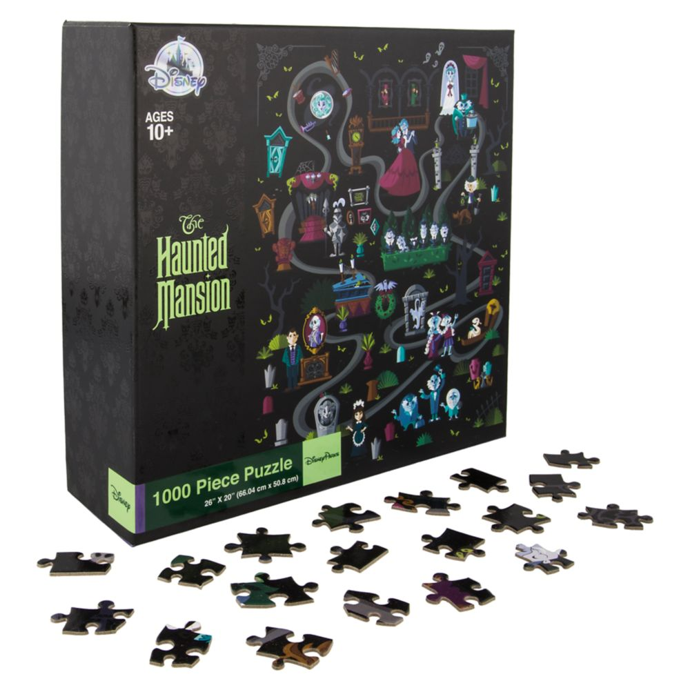 The Haunted Mansion Jigsaw Puzzle