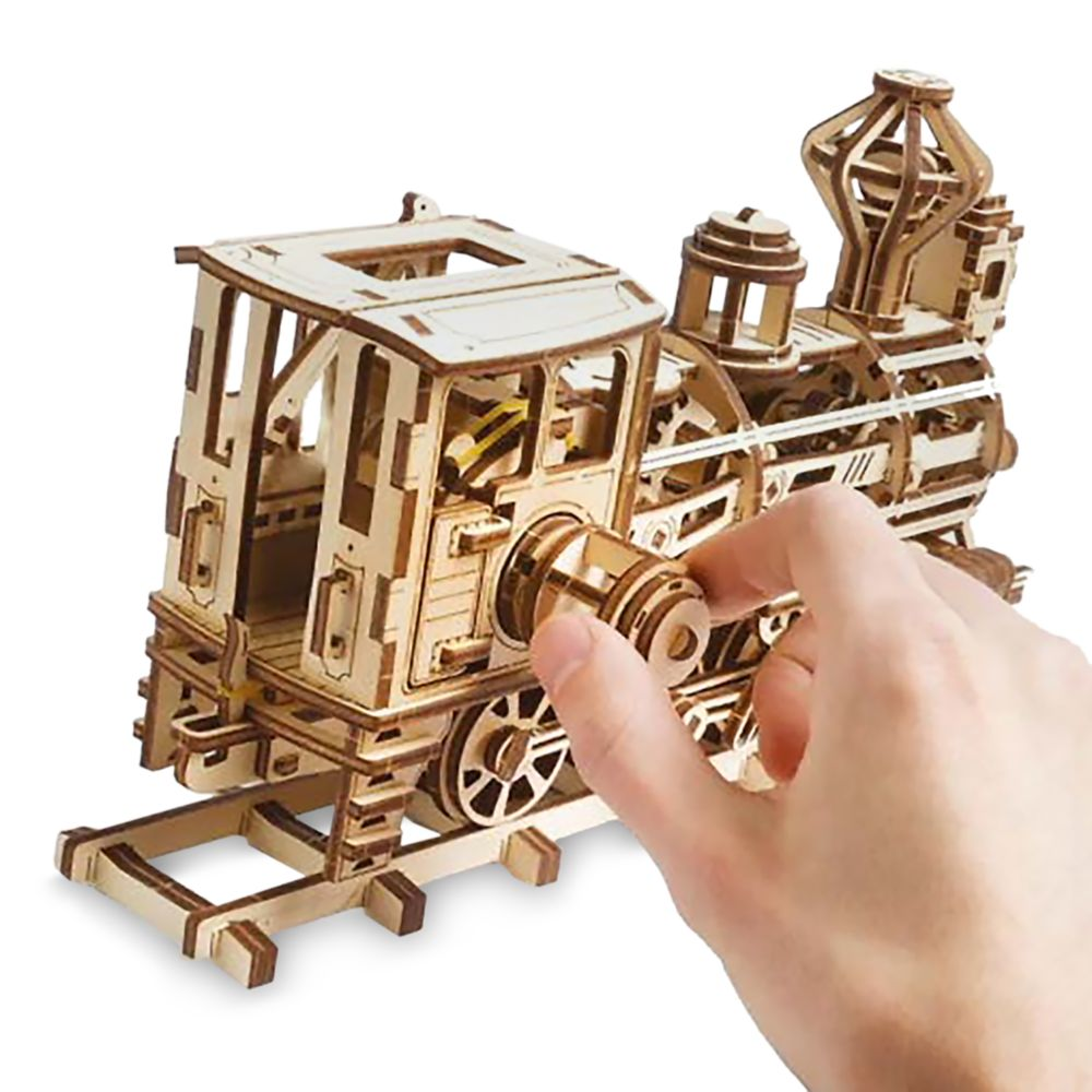 Walter E. Disney Train Wooden Puzzle by UGears