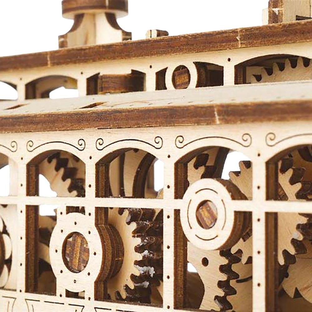 Main Street U.S.A. Trolley Wooden Puzzle by UGears