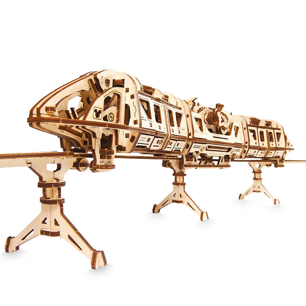 Disney Parks Monorail Wooden Puzzle by UGears