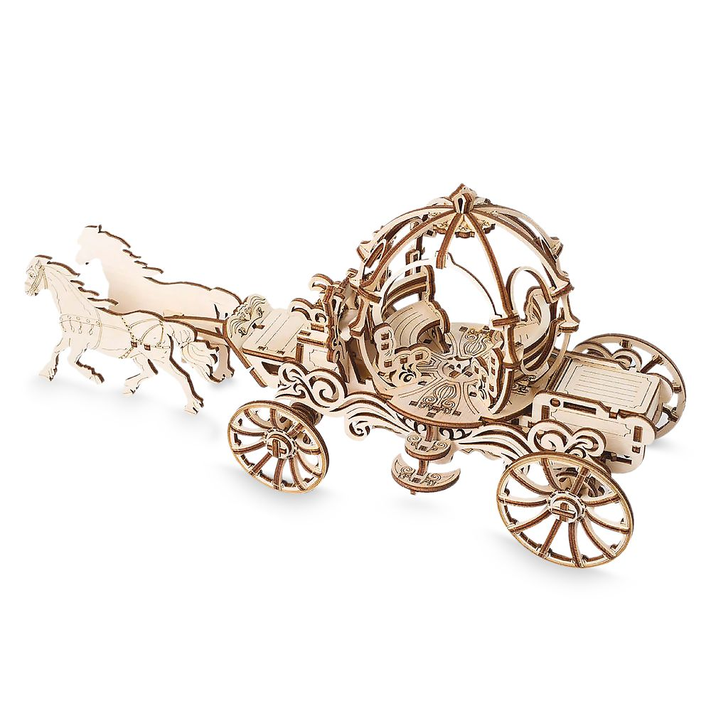 Cinderella Carriage Wooden Puzzle by UGears