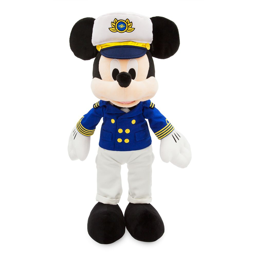 Mickey Mouse Plush  Disney Cruise Line  Medium  17''