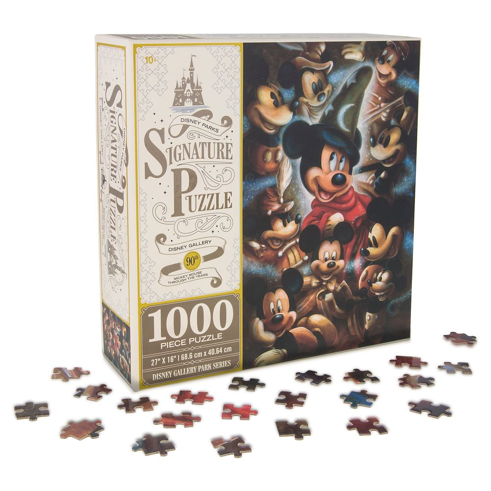 Mickey Mouse Through the Years Jigsaw Puzzle