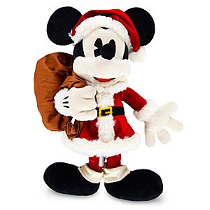 Mickey Mouse Holiday Plush - Medium