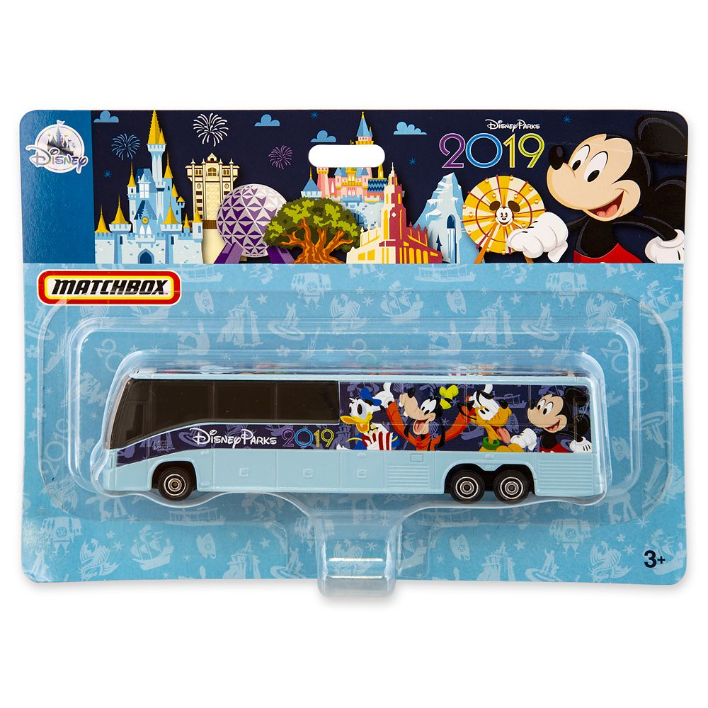 Mickey Mouse and Friends Bus – Disney Parks 2019