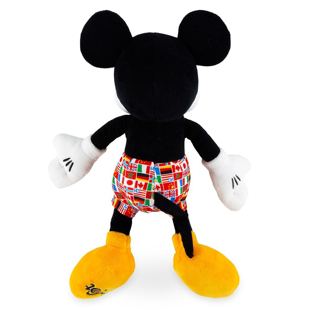 Mickey Mouse Epcot Flags Plush – 11''