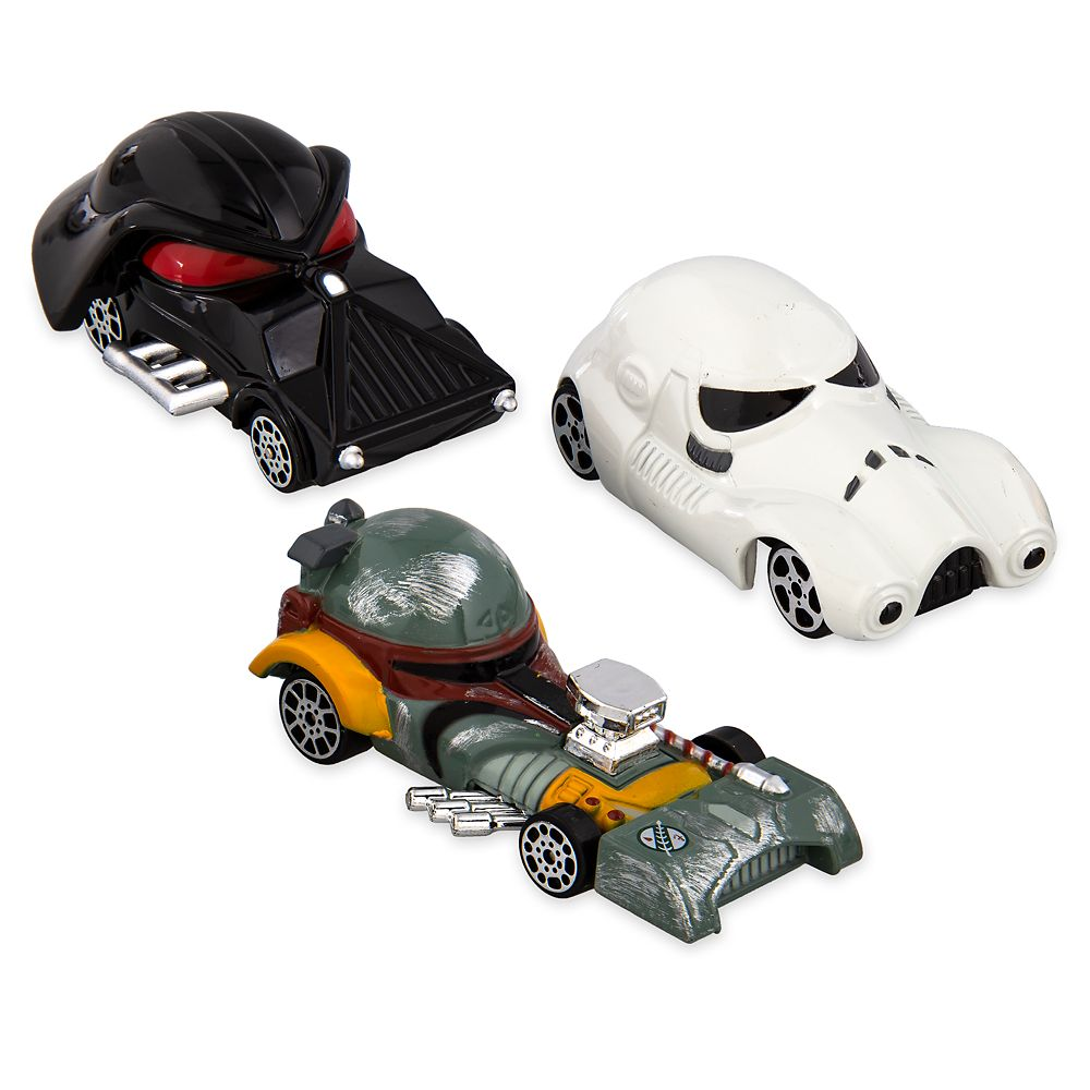 Star Wars Dark Side Disney Racers Die Cast Set