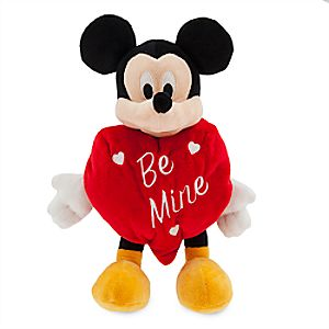 Mickey Mouse ''Be Mine'' Valentine Plush - Small
