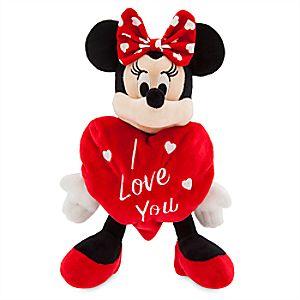 Minnie Mouse ''I Love You'' Valentine Plush - Small