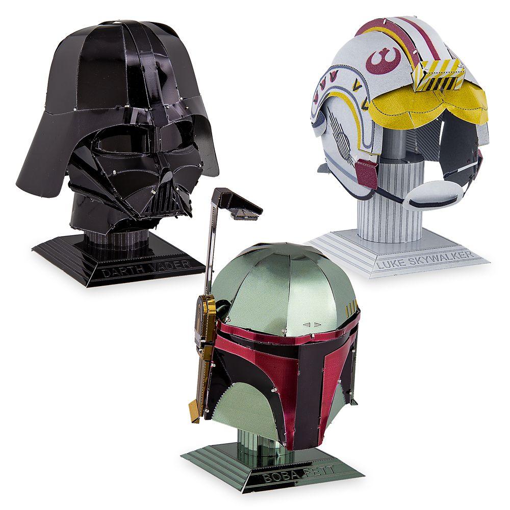 Star Wars Helmet Pack Metal Earth 3D Model Kit  Set 1 Official shopDisney