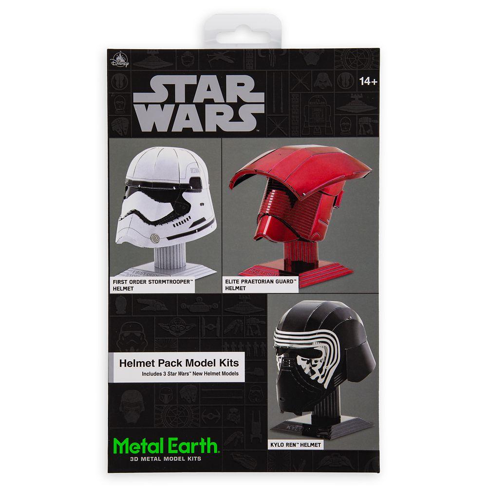 Star Wars Helmet Pack Metal Earth 3D Model Kit – Set 2