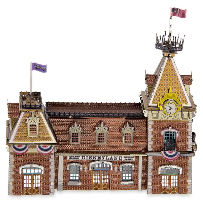 Disneyland Main Street Station Metal Earth 3D Model Kit