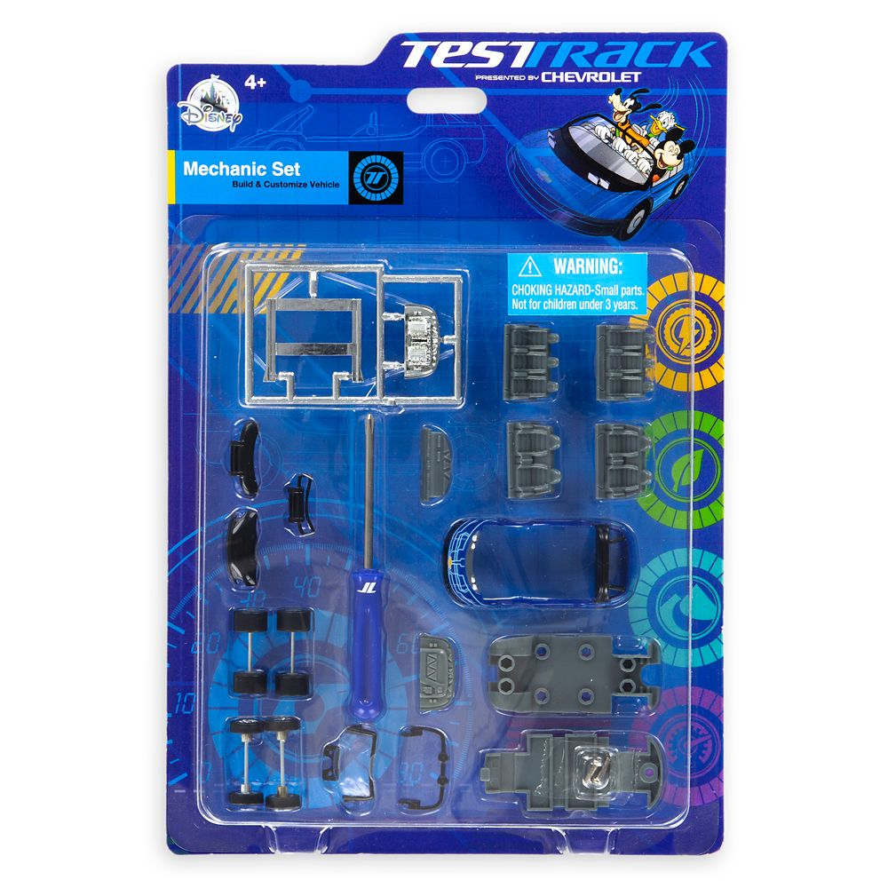 Test Track Mechanic Set