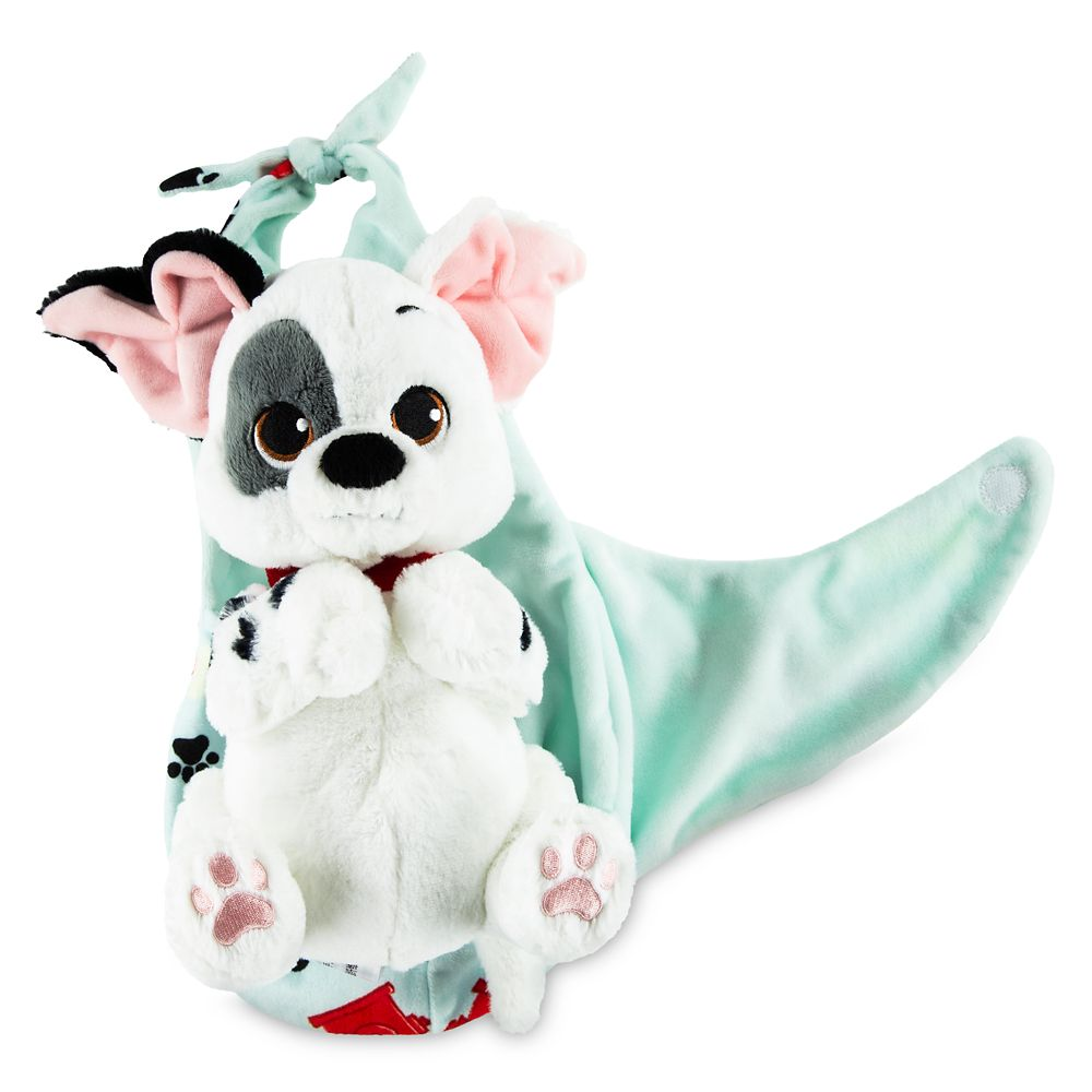 Patch Plush with Blanket Pouch – 101 Dalmatians – Disney Babies – Small
