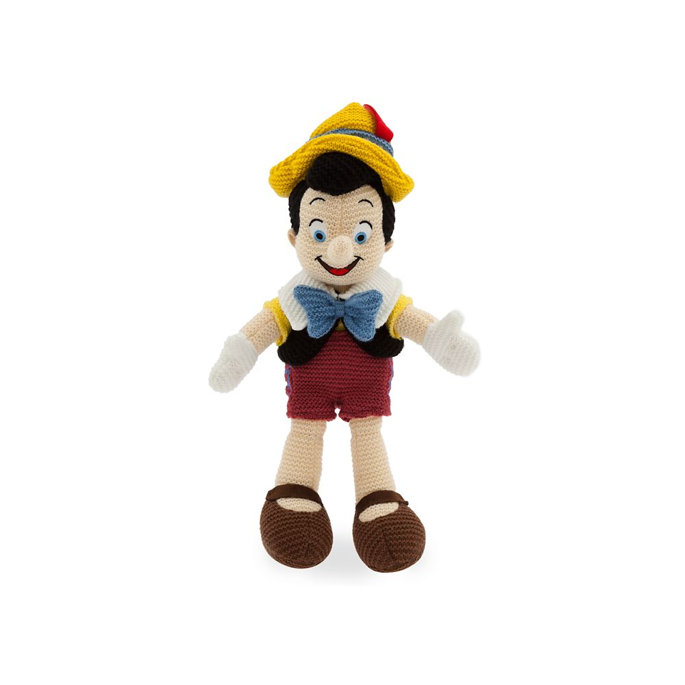 Pinocchio Knit Plush – 14'' – Limited Release