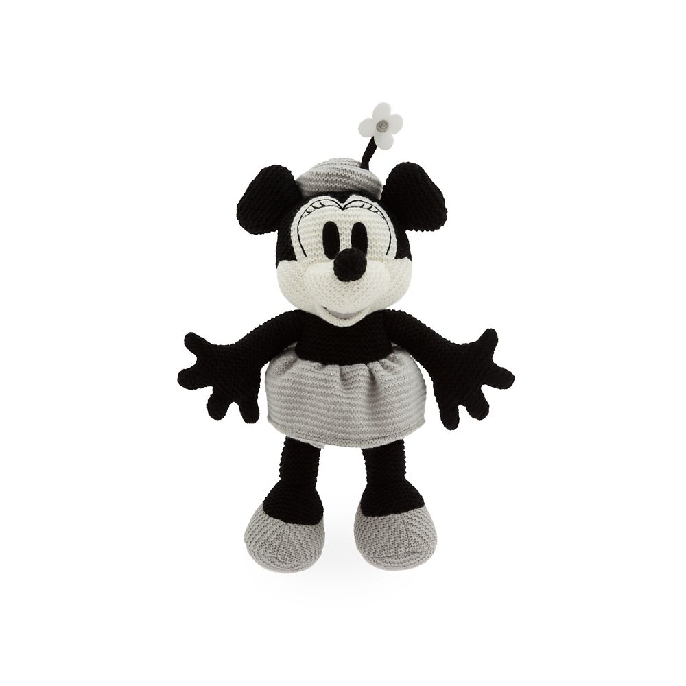 Minnie Mouse Knit Plush – Steamboat Willie – 14''