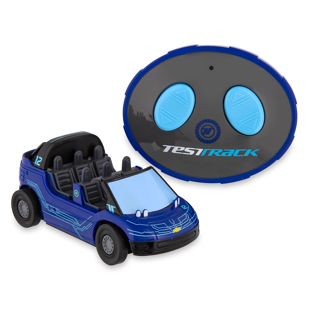 Test Track Radio Control Vehicle