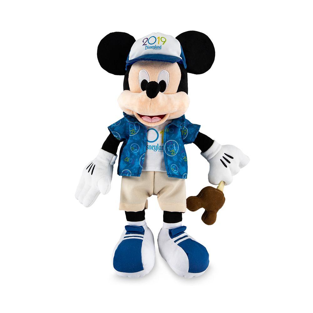 Mickey Mouse Plush  Disneyland 2019  Medium  16''