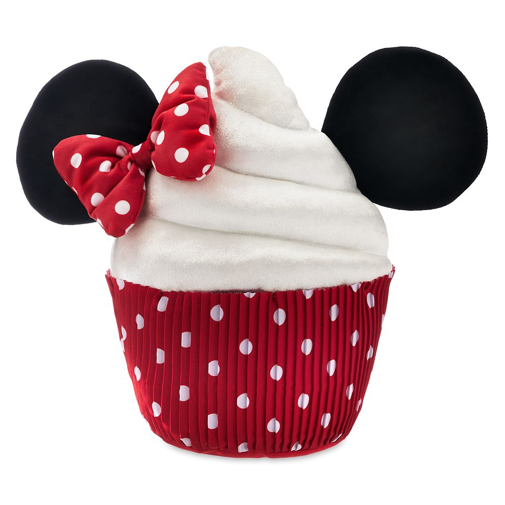 Minnie Mouse Cupcake Plush  Scented  Medium  14'' Official shopDisney