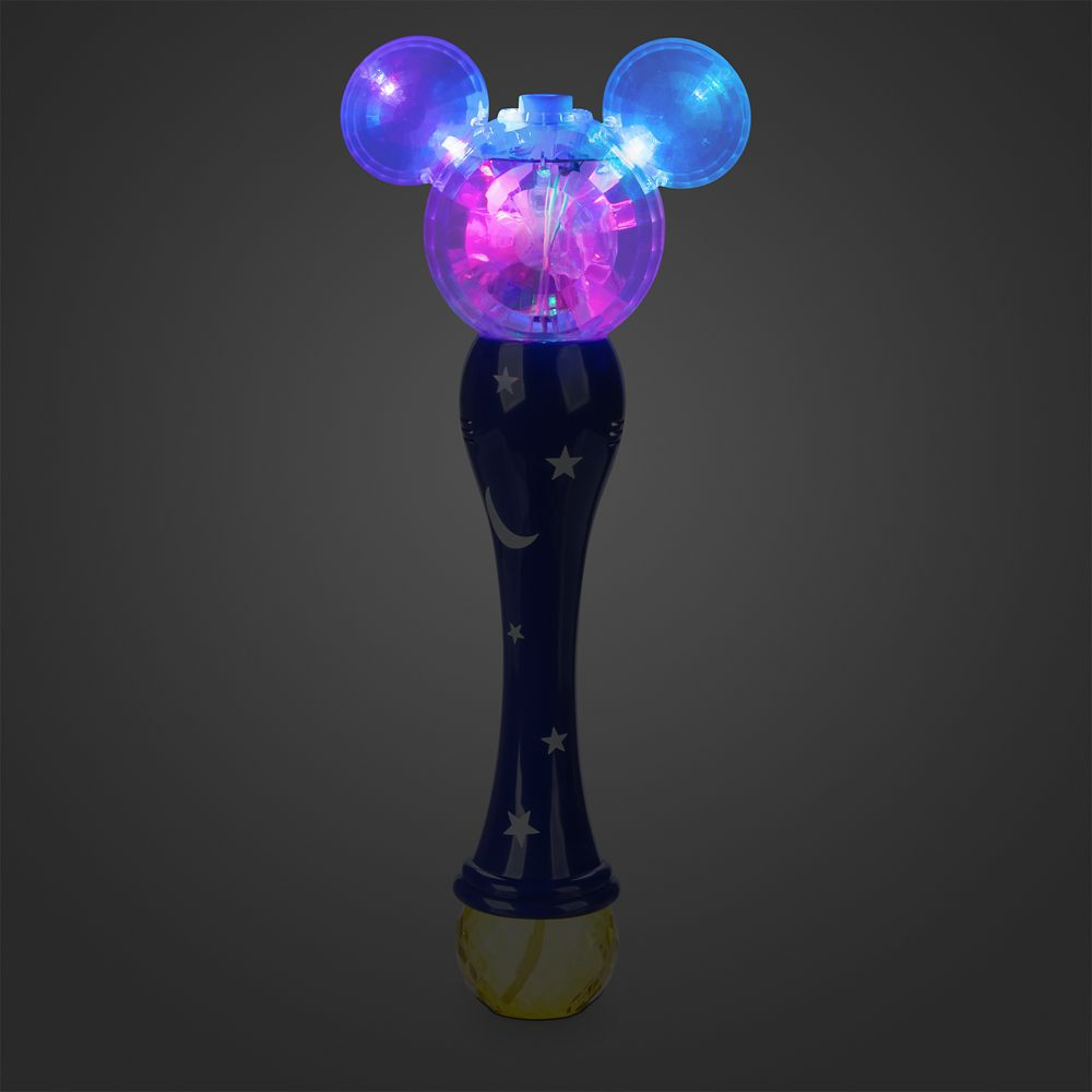 Sorcerer Mickey Mouse Light-Up Bubble Wand  – Fantasia