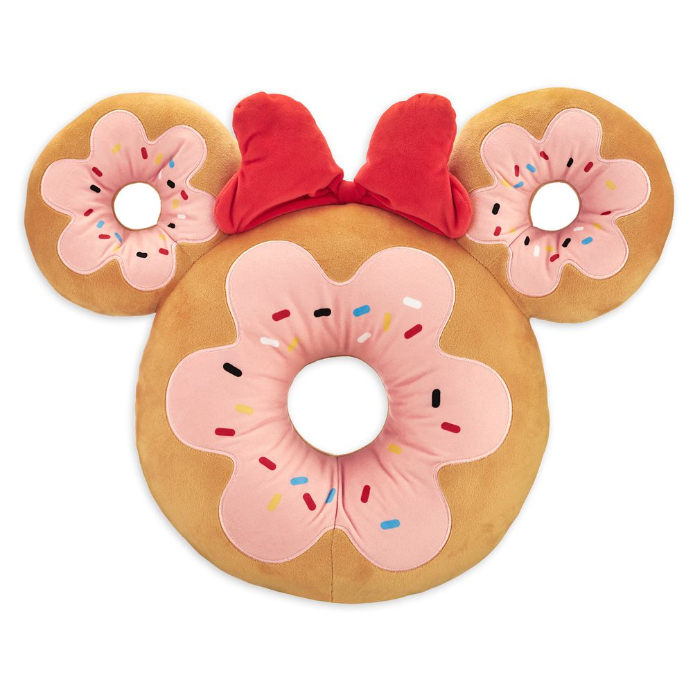 Minnie Mouse Donut Plush – Scented – Medium – 15''