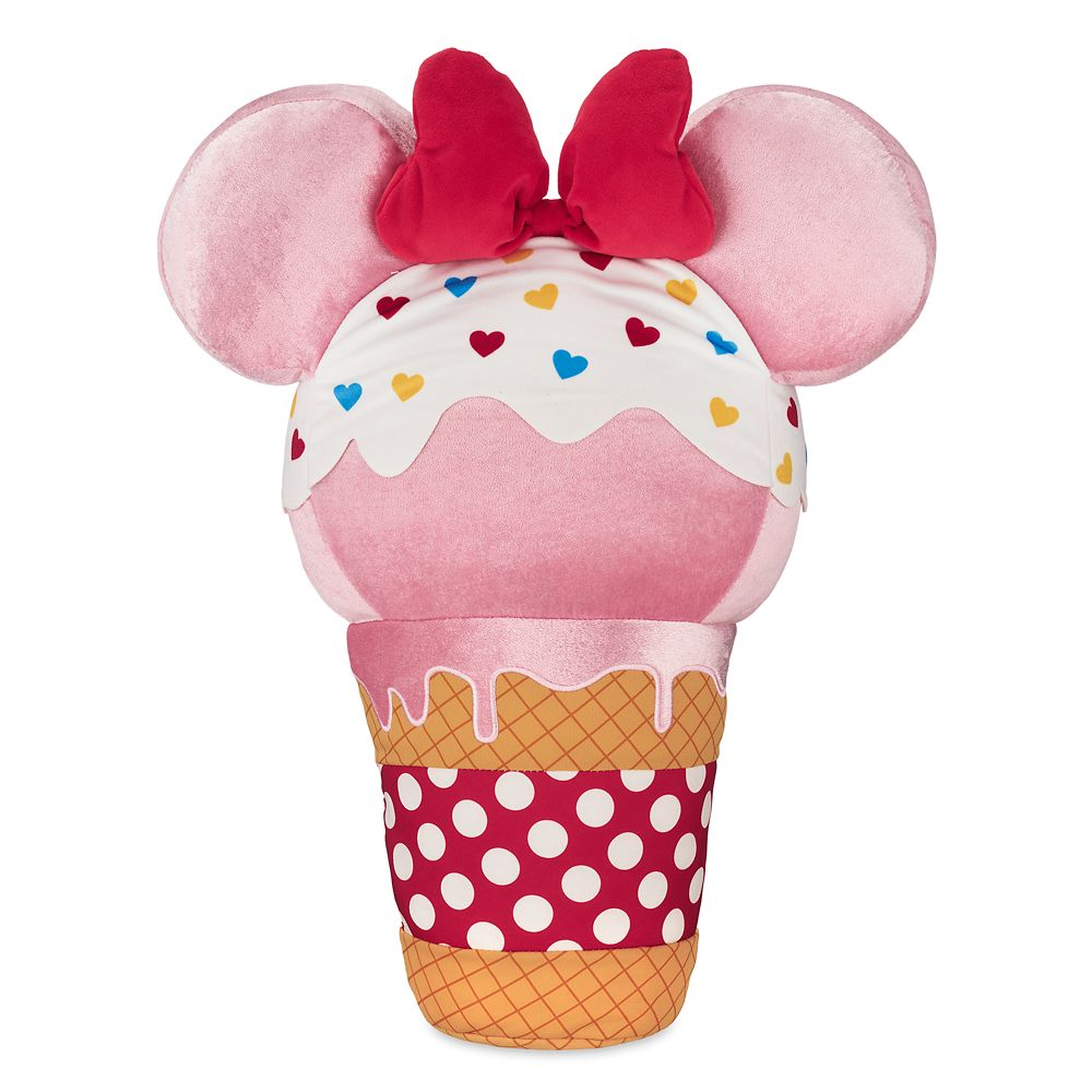 Minnie Mouse Ice Cream Cone Plush  Scented  Large  20'' Official shopDisney