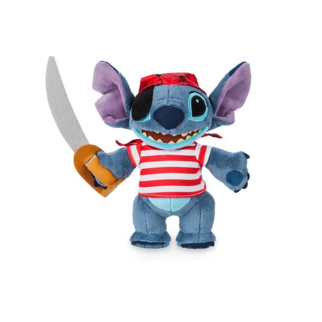 Stitch Plush – Pirates of the Caribbean – Disney Cruise Line – Small – 10''