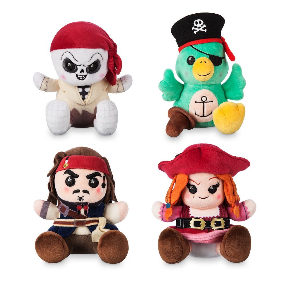 Disney Parks Wishables Mystery Plush – Pirates of the Caribbean Attraction Series