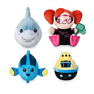 Disney Parks Wishables Mystery Plush - Finding Nemo Submarine Voyage Series