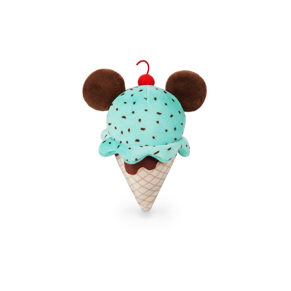 Mickey Mouse Ice Cream Cone Disney Parks Wishables Plush
