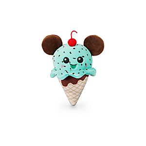 Mickey Mouse Ice Cream Cone Disney Parks Wishables Plush