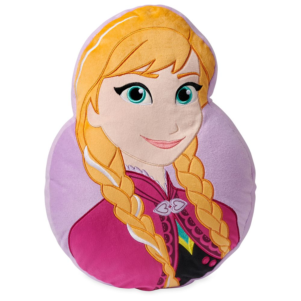 Anna Head Pillow Official shopDisney