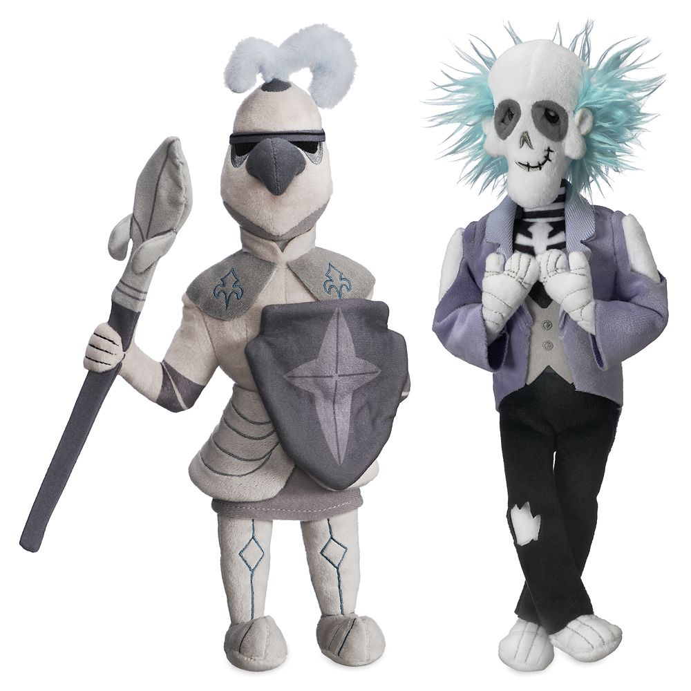 Master Gracey and Knight Plush Set – The Haunted Mansion – Limited Release