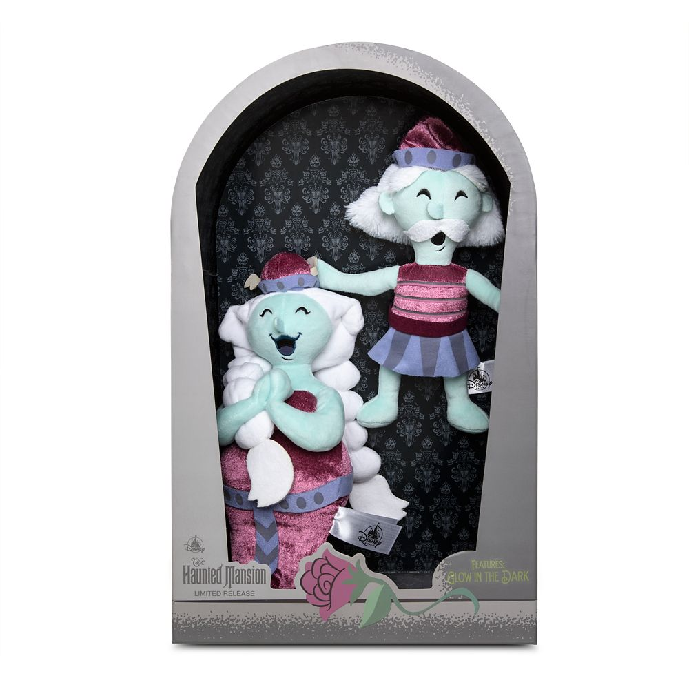 Opera Ghosts Plush Set – The Haunted Mansion – Limited Release