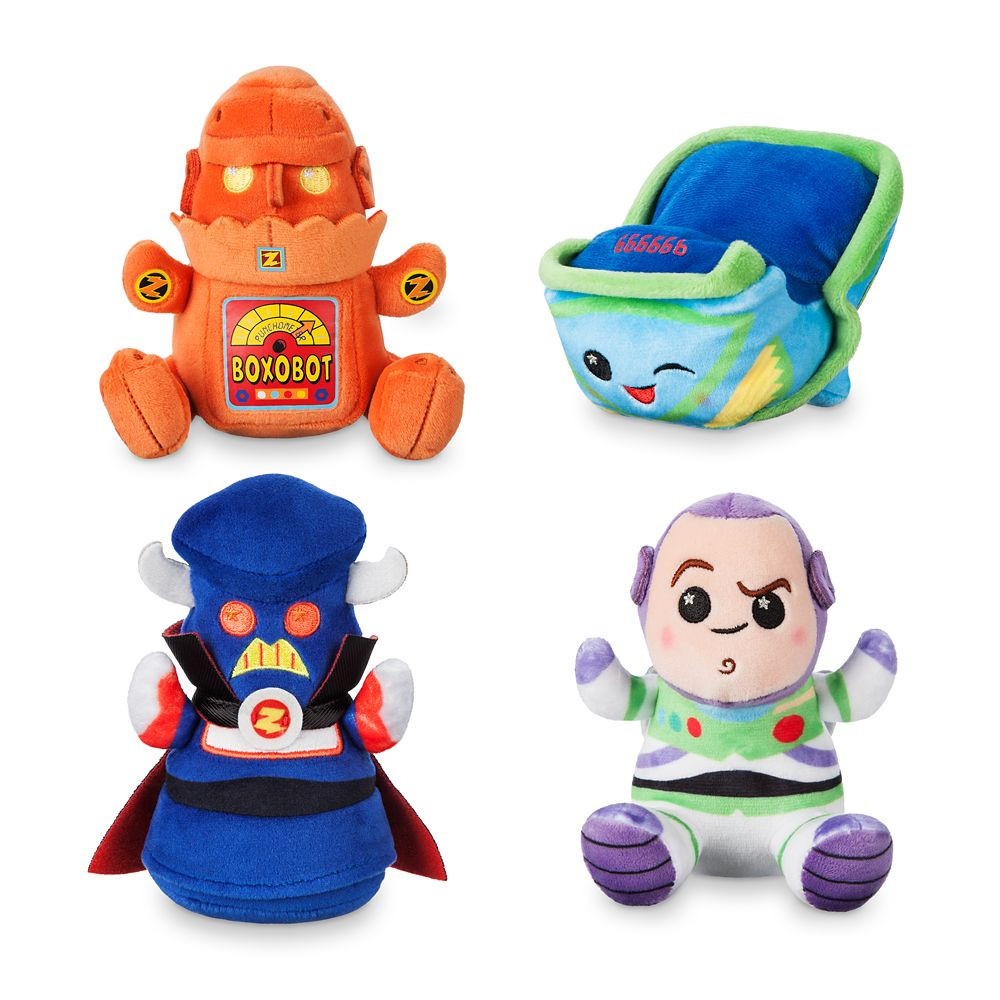 Disney Parks Wishables Mystery Plush  Buzz Lightyear Attraction Series