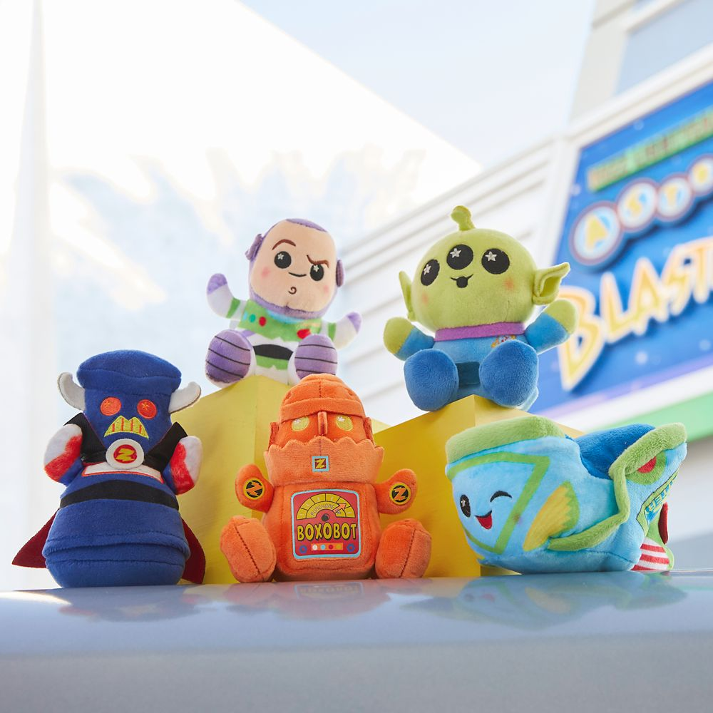Disney Parks Wishables Mystery Plush – Buzz Lightyear Attraction Series