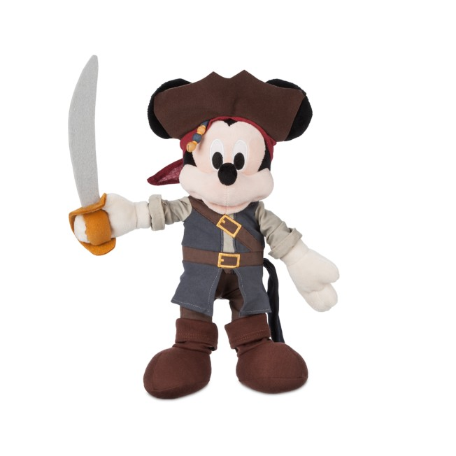 Mickey Mouse Plush – Pirates of the Caribbean – Small – 12''