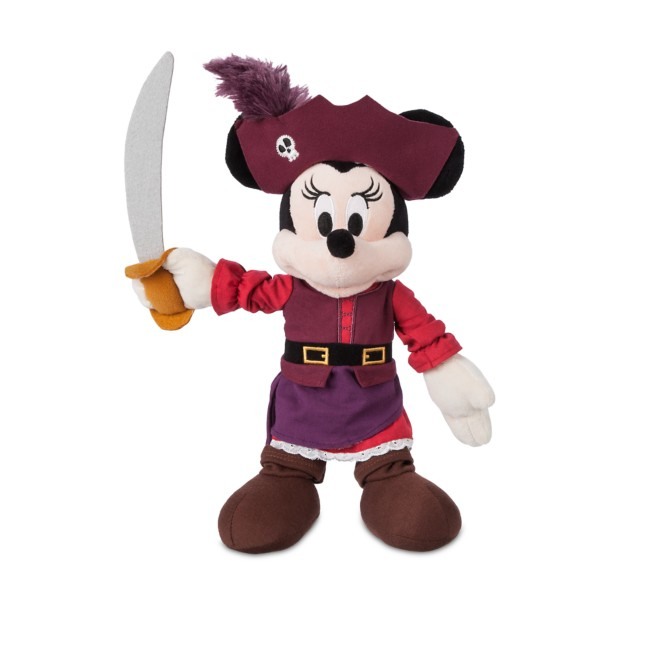 Minnie Mouse Plush – Pirates of the Caribbean – Small – 12''