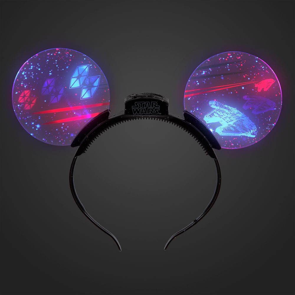 Star Wars Glow Ears Headband