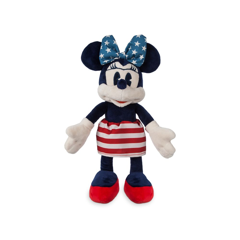Minnie Mouse Americana Plush  Small  12 1/2'' Official shopDisney