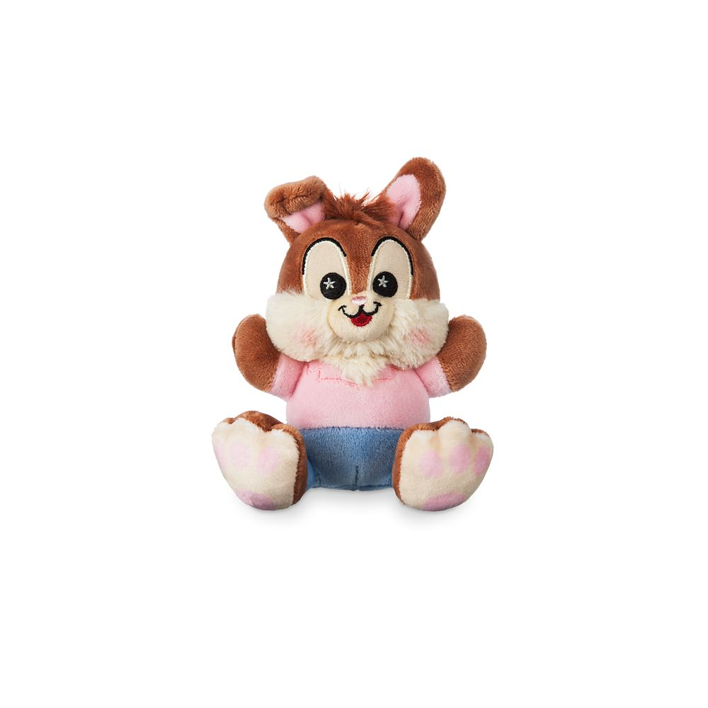 Br'er Rabbit Disney Parks Wishables Plush  Splash Mountain Series  Micro