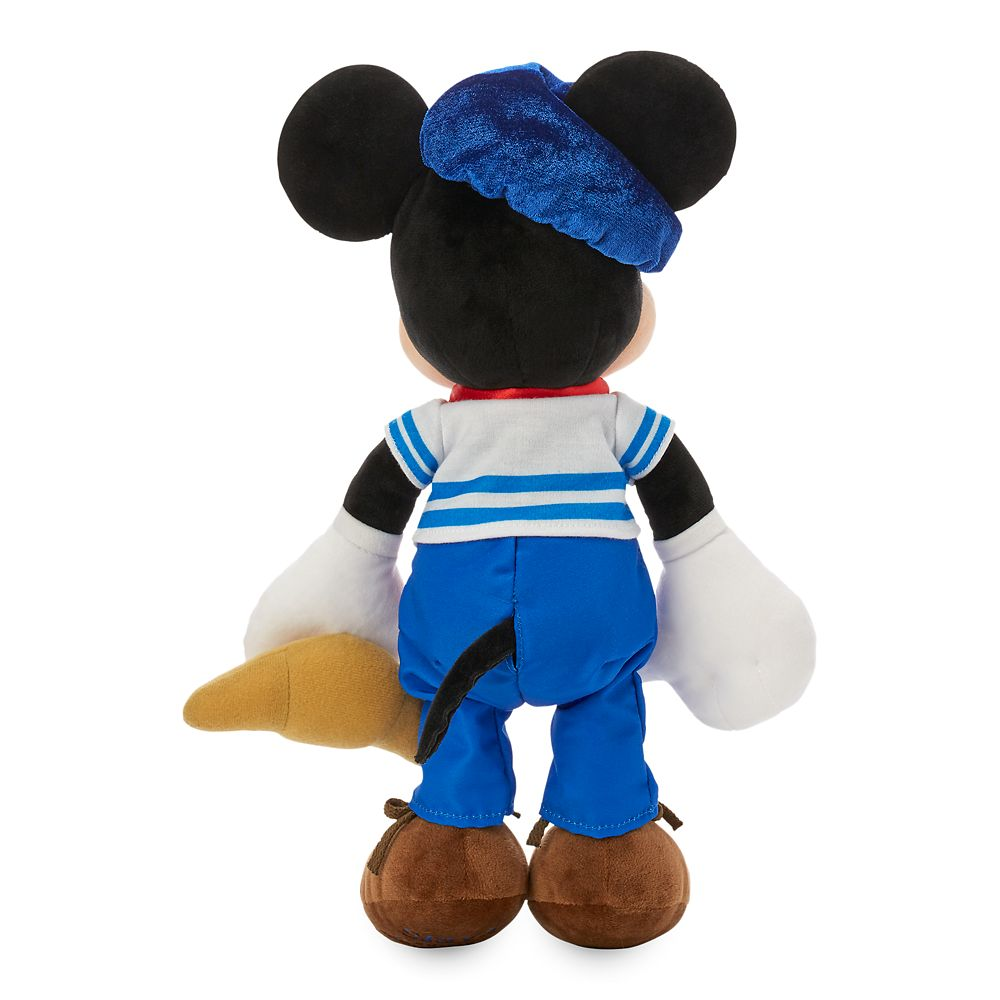 Mickey Mouse Parisian Plush – France – World Showcase – Small – 13''